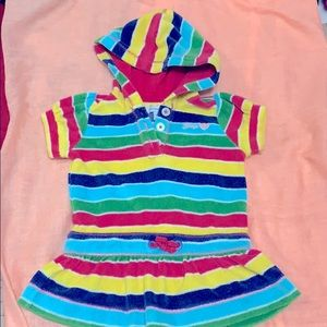 BabyGap colorful Stripes Dress